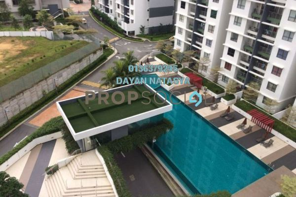 For Sale Condominium at Ivory Residence, Kajang Freehold Semi Furnished 3R/2B 380k