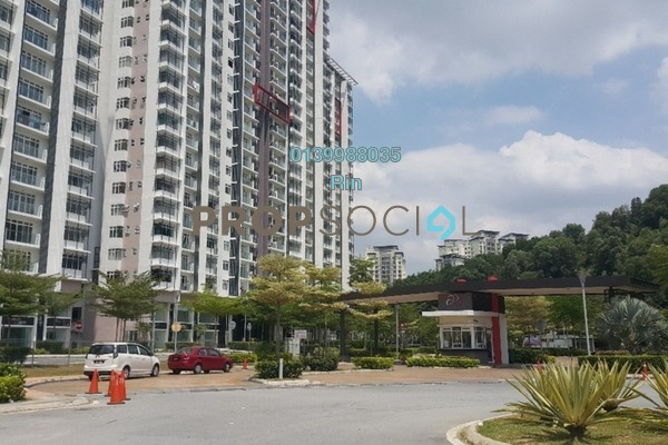For Sale Condominium at Dwiputra Residences, Putrajaya Freehold Fully Furnished 3R/2B 550k