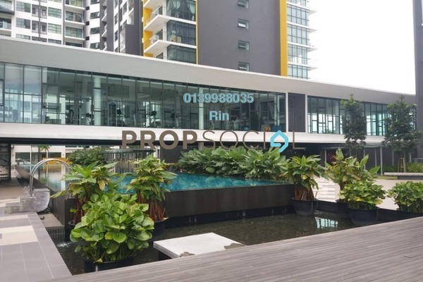 For Rent Condominium at Zeva, Bandar Putra Permai Freehold Fully Furnished 1R/1B 1k