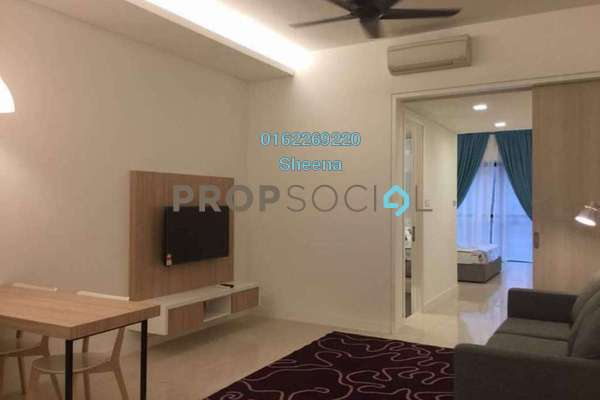 For Sale Serviced Residence at The Horizon Residences, KLCC Freehold Fully Furnished 1R/1B 880k