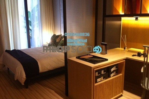 For Sale Condominium at The Pano, Sentul Freehold Semi Furnished 1R/1B 550k