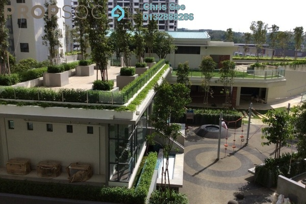 For Sale Condominium at Suria Residence, Bukit Jelutong Freehold Semi Furnished 3R/2B 780k