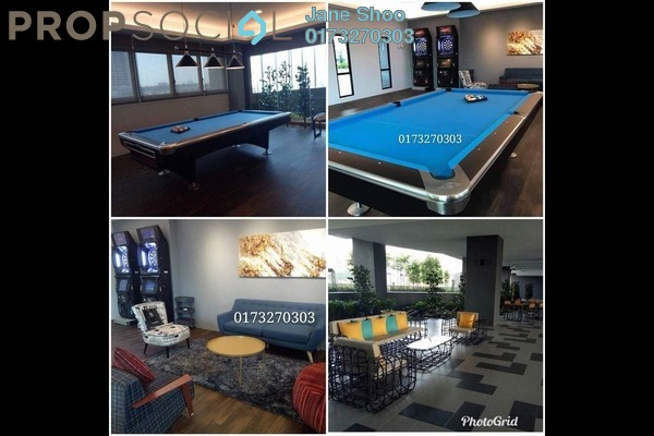 For Rent Condominium at D'Sands Residence, Old Klang Road Freehold Fully Furnished 5R/4B 1.2k