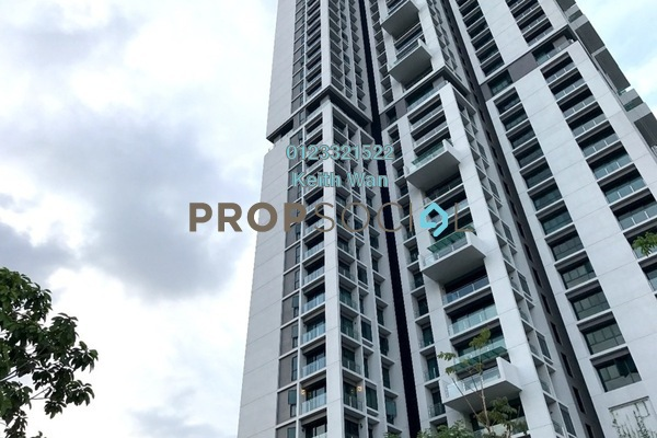 For Sale Condominium at One Central Park, Desa ParkCity Freehold Semi Furnished 2R/2B 1.26m