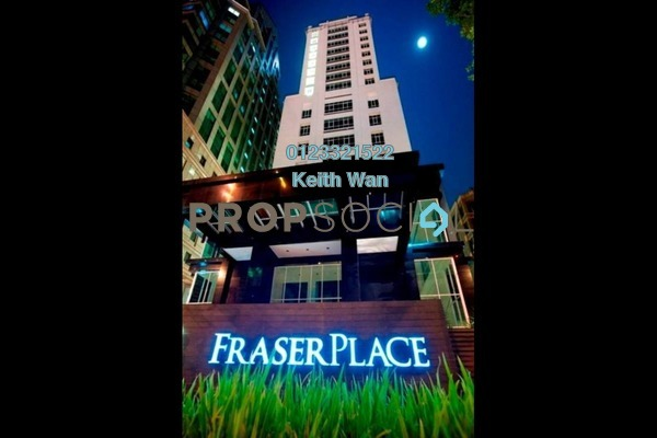 For Sale Condominium at Fraser Place, KLCC Freehold Fully Furnished 1R/1B 998k