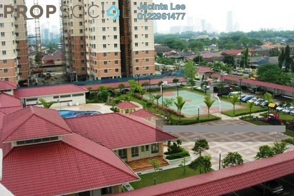 For Sale Apartment at Pertiwi Indah, Cheras Freehold Semi Furnished 3R/2B 423k