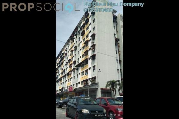 For Sale Apartment at Taman Sri Manja, PJ South Freehold Semi Furnished 3R/0B 80k