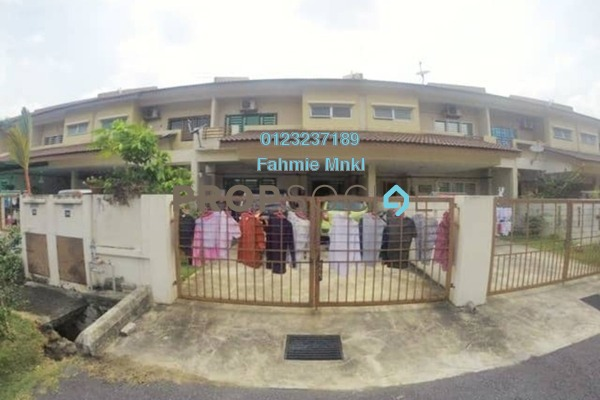 For Sale Terrace at Bandar Puncak Alam, Kuala Selangor Leasehold Semi Furnished 4R/3B 440k