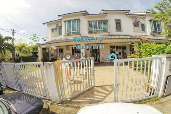 For Sale Terrace at Bandar Puncak Alam, Kuala Selangor Leasehold Semi Furnished 4R/3B 470k