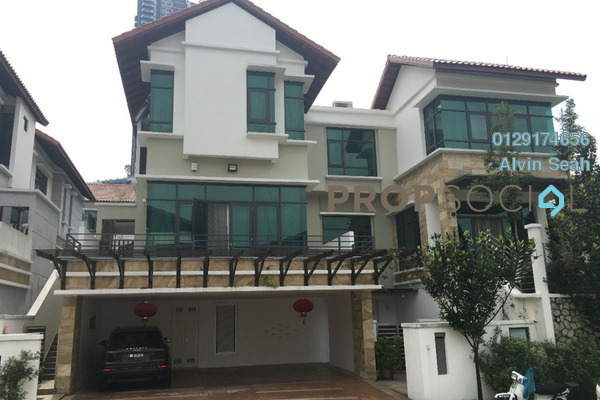 For Sale Bungalow at BayRocks, Bandar Sunway Freehold Fully Furnished 4R/5B 7m