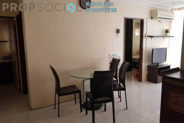 For Rent Apartment at Taman Kristal, Tanjung Tokong Freehold Fully Furnished 3R/2B 1.2k