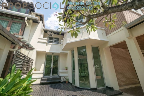 For Rent Semi-Detached at Villa Aseana, Mont Kiara Freehold Semi Furnished 4R/6B 8.5k