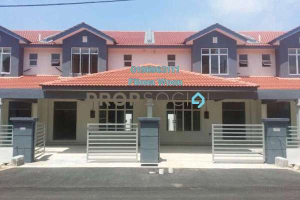 For Sale Terrace at Taman Sutera Wangi, Batu Berendam Leasehold Unfurnished 4R/3B 380k