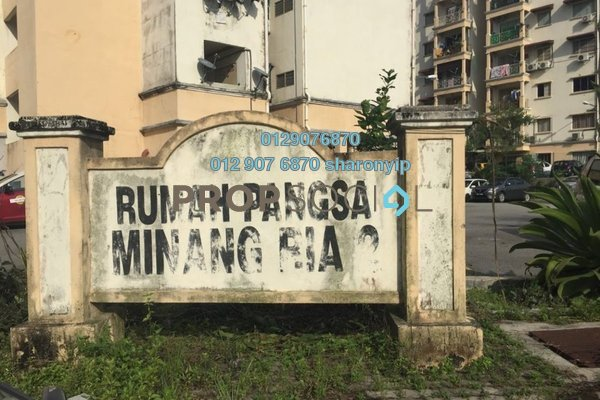 For Rent Apartment at Taman Minang Ria, Cheras South Freehold Unfurnished 3R/2B 750translationmissing:en.pricing.unit
