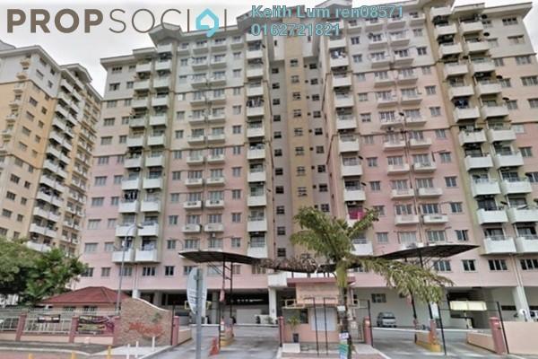 For Rent Condominium at Jalil Damai, Bukit Jalil Freehold Semi Furnished 2R/1B 1.4k