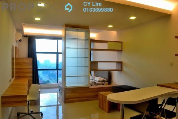 For Rent Serviced Residence at Zeva, Bandar Putra Permai Freehold Fully Furnished 0R/1B 1.1k