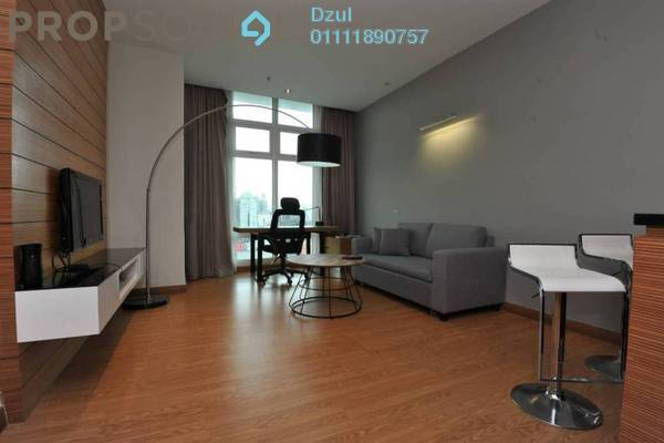 For Sale Condominium at Dua Sentral, Brickfields Freehold Fully Furnished 1R/1B 560k