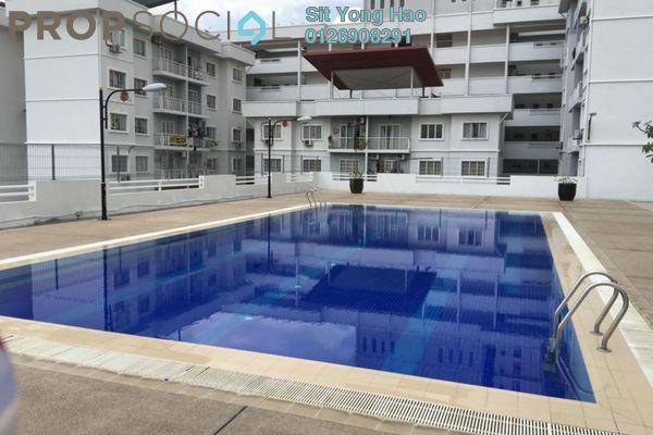 For Sale Condominium at Kristal Heights, Shah Alam Freehold Unfurnished 3R/2B 380k