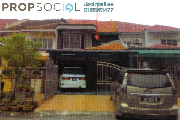 For Sale Terrace at Anggerik Doritis, Kota Kemuning Freehold Semi Furnished 4R/4B 420k
