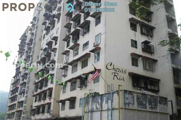 For Rent Apartment at Cheras Ria, Cheras Freehold Semi Furnished 3R/1B 650translationmissing:en.pricing.unit