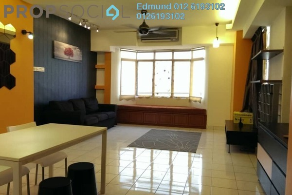 For Rent Condominium at Kelana Puteri, Kelana Jaya Freehold Semi Furnished 3R/2B 1.8k