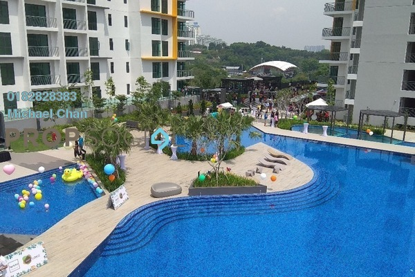 For Rent Serviced Residence at Parkhill Residence, Bukit Jalil Freehold Fully Furnished 3R/2B 2.2k