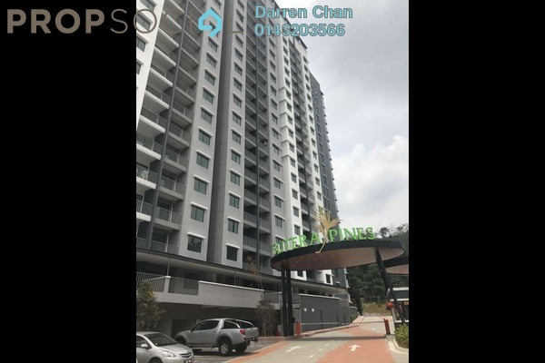 For Rent Condominium at Sutera Pines, Bandar Sungai Long Freehold Unfurnished 3R/2B 1.4k