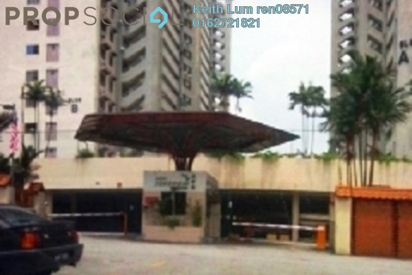 For Rent Condominium at Seri Cendekia Apartment, Cheras Freehold Semi Furnished 3R/2B 1.1k