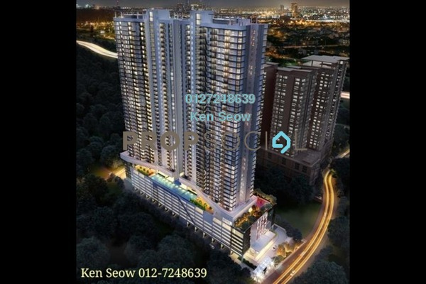 For Sale Condominium at Inspirasi Mont'Kiara, Mont Kiara Leasehold Unfurnished 3R/2B 630k