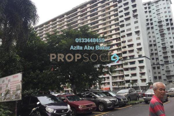 For Sale Apartment at Danau Kota, Setapak Freehold Unfurnished 3R/1B 200k
