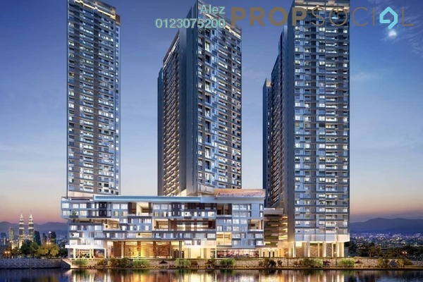 For Sale Condominium at Tria Residences @ 9 Seputeh, Old Klang Road Leasehold Semi Furnished 2R/2B 620k