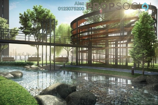 For Sale Condominium at Tria Residences @ 9 Seputeh, Old Klang Road Freehold Semi Furnished 2R/2B 799k