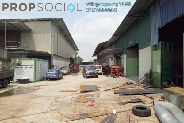 For Rent Factory at Taman Mas Flat, Sungai Nibong Freehold Unfurnished 0R/1B 8k