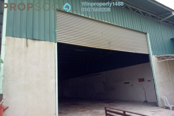 For Rent Factory at Taman Mas Flat, Sungai Nibong Freehold Unfurnished 0R/1B 2.5k