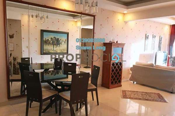 For Rent Condominium at Rivercity, Sentul Freehold Fully Furnished 3R/2B 1.95k
