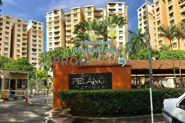 For Sale Condominium at Pelangi Condominium, Sentul Freehold Semi Furnished 3R/2B 480k