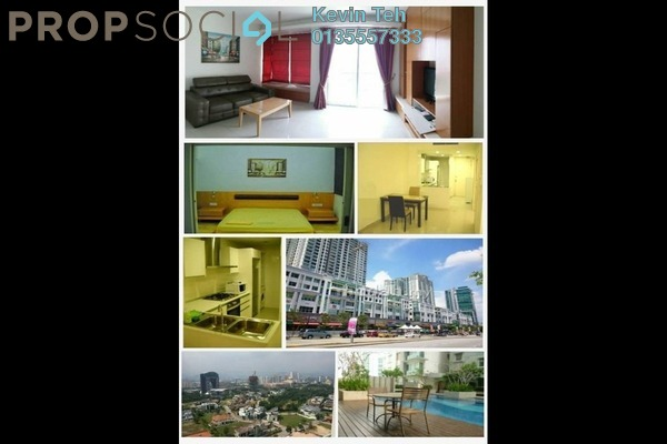 For Sale Serviced Residence at Solaris Dutamas, Dutamas Freehold Fully Furnished 1R/1B 730k