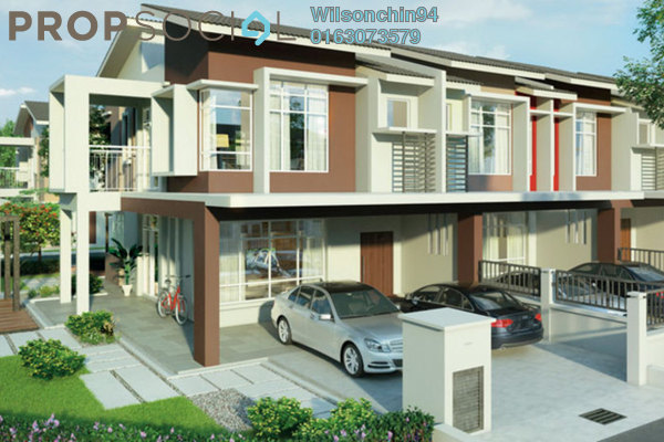 For Sale Terrace at Maplé, HillPark Leasehold Unfurnished 4R/3B 505k