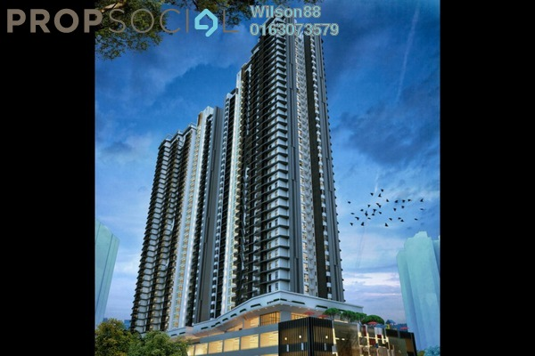 For Sale Condominium at Inspirasi Mont'Kiara, Mont Kiara Leasehold Semi Furnished 3R/2B 650k