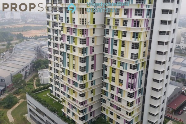 For Rent Apartment at The Domain, Cyberjaya Freehold Semi Furnished 1R/1B 1k