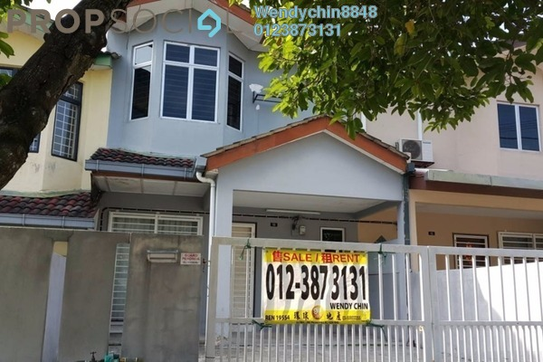 For Sale Terrace at PU8, Bandar Puchong Utama Freehold Semi Furnished 4R/3B 448k
