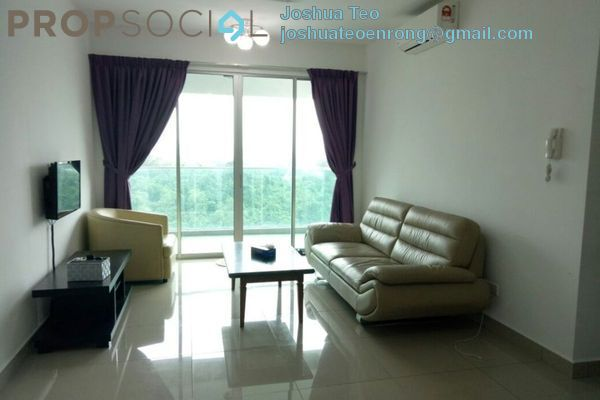 For Rent Condominium at Kiara Residence 2, Bukit Jalil Freehold Semi Furnished 4R/3B 1.8k
