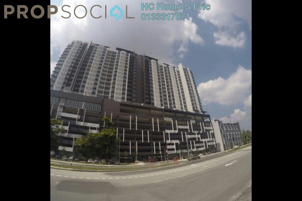 For Rent Condominium at Symphony Residence, Kajang Freehold Fully Furnished 3R/2B 1.5k