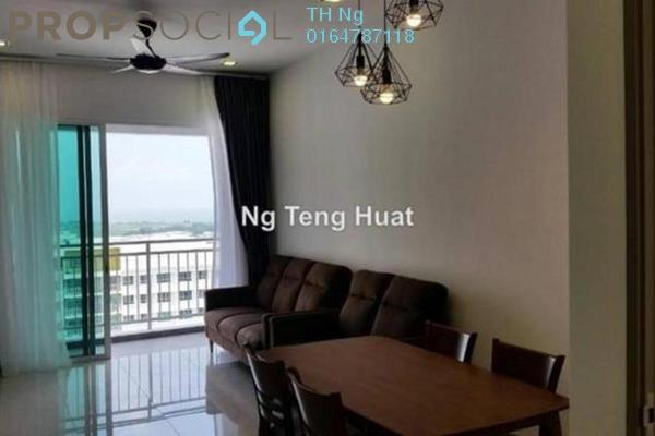 For Rent Serviced Residence at Solaria Residences, Sungai Ara Freehold Fully Furnished 3R/2B 1.8k