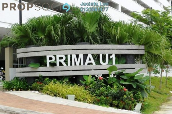 For Sale Serviced Residence at Prima U1, Shah Alam Freehold Semi Furnished 3R/2B 236k