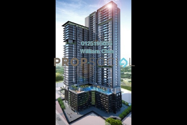 For Sale Condominium at Rica Residence, Sentul Freehold Unfurnished 2R/2B 400k