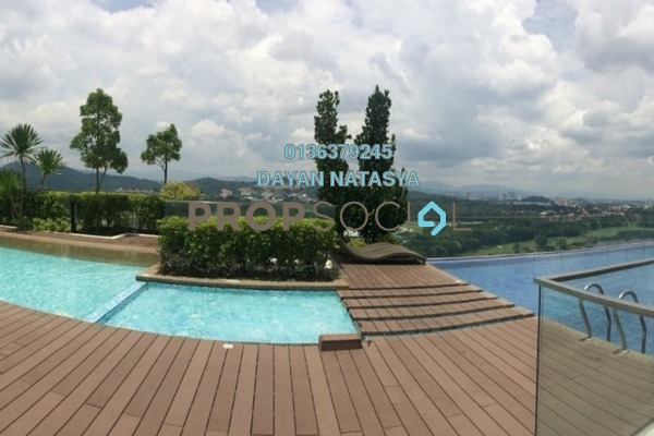 For Sale Serviced Residence at One South, Seri Kembangan Freehold Semi Furnished 3R/2B 650k