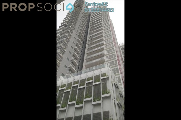 For Rent Condominium at Duet Residence, Bandar Kinrara Freehold Semi Furnished 3R/2B 1.6k