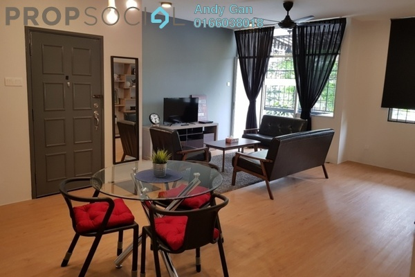 For Rent Apartment at Manor Apartment, Cheras Freehold Fully Furnished 3R/2B 1.8k