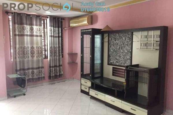 For Sale Terrace at Taman Mastiara, Jalan Ipoh Freehold Semi Furnished 4R/3B 680k